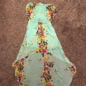 Dresses & Skirts - Beautiful High Low Strapless Summer Dress